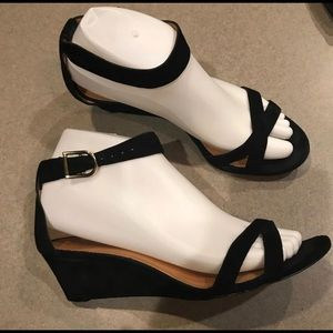 J. Crew Demi Wedge Suede Read